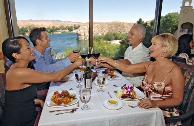 Bring your group – and appetites – to Laughlin for delicious top-notch dining