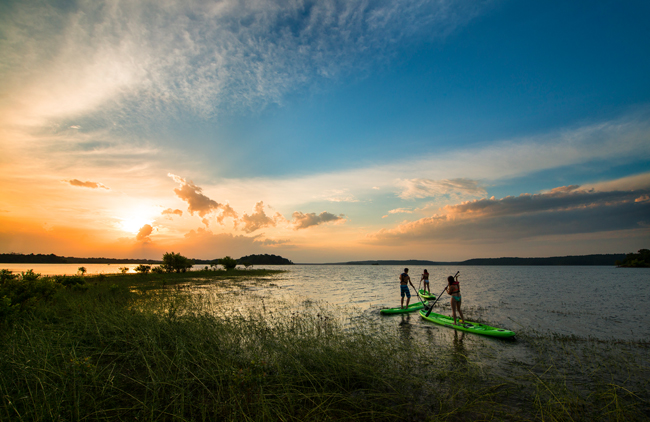 DeGray Lake State Park is located in Bismarck, Arkansas, courtesy Arkansas Dept. of Parks and Tourism