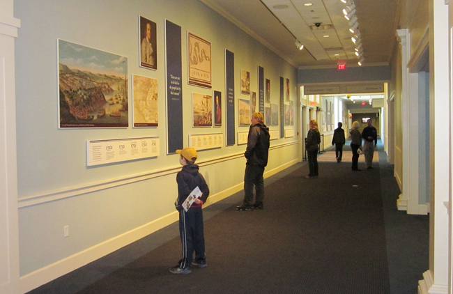 See a timeline of the American Revolution at the American Revolution Museum at Yorktown, courtesy Jamestown-Yorktown Foundation