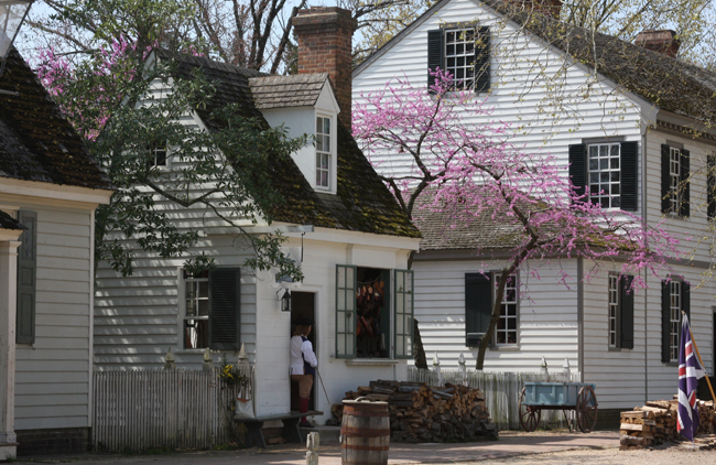 Tour historic buildings at Colonial Williamsburg, Courtesy Colonial Williamsburg