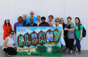 Our group enjoyed Albany's downtown and fun attractions, all photos by Brian Jewell